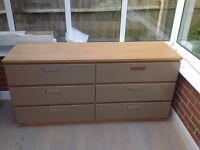 IKEA Malm Chest of Drawers - 2 x 6 Draw matching set [SOLD]