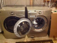 Top of the line front load washer and dryer
