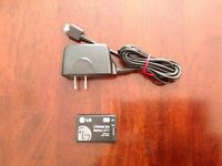 LG285 Cell Phone  Battery & Charger.