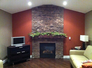 FIREPLACE MAKEOVER- GET IT DONE BEFORE THE HOLIDAYS !