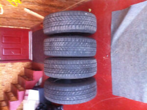 Studded tires for sale.