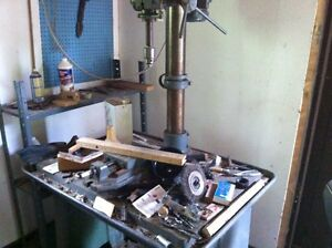 Large industrial drill press