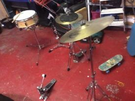 Pieces of drum set