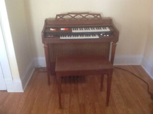 FREE organ and bench