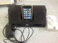 IPod touch 4 Gen, 8Gig and Altec Lancing Portable Dock £50
