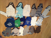 3-6 months sleepers and onesies