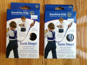 Sunshine Kids Sure Steps Security Harness & Wrist Strap