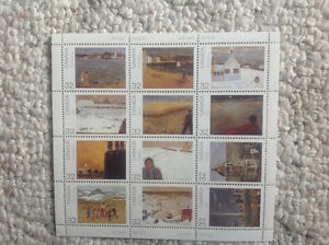 Canadian stamp sheet collection Strathcona County Edmonton Area image 2