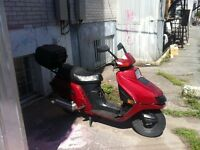 Honda elite 250cc,1985, pieces, routes