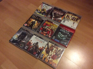 Playstation 3 Games - 3 for 20$
