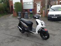 2012 sym jet4 125cc scooter/moped 12 months MOT