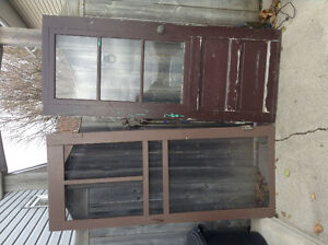 Free - cottage and screen doors