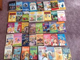 80 Enid blyton books books collect tyldesley or I will post at your cost