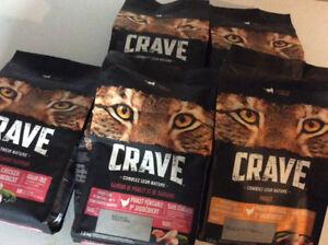 Manger chat crave neufffff 5 sac