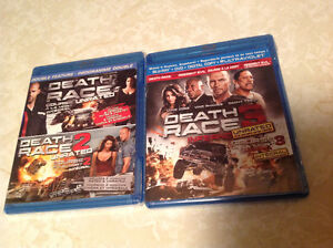 Death Race 1-3 Blue-Ray Unrated Version