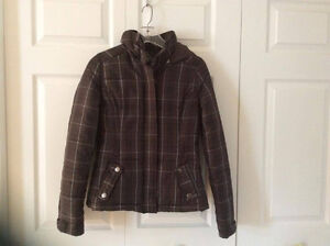 Clean, Very Good Condition Plaid Winter Jacket