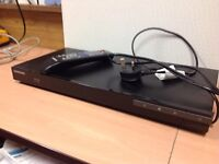 Samsung blue ray player with remote control