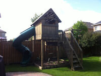 Custom Built Children's Clubhouse/Fort For Sale