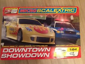 Micro SCALEXTRIC set in v g c
