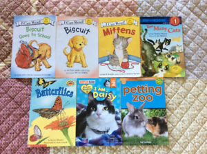 7 early reader books