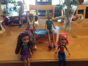 Monster High Clawdine Wolf Family