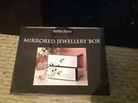 JEWELLERY BOX - MIRRORED New in Box