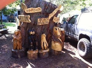CUSTOM CHAINSAW CARVINGS FOR SALE Peterborough Peterborough Area image 2