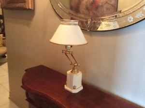 Lampe de bureau antique ,antique desk lamp