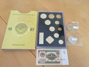 Russian coin set