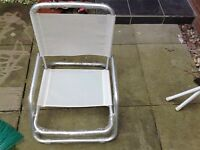 Collapsable deck chair / brand new