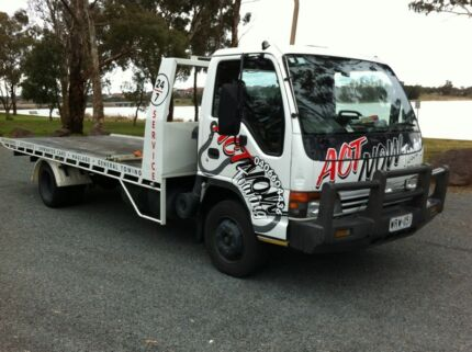 ACTNOW Towing Canberra. 24/7