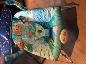 Baby finding dory vibrating chair