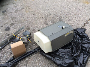 Used Stanley secure source Garage door opener with everything h