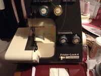 Frister Rossmann vintage overlocking sewing machine Fristerlock 4