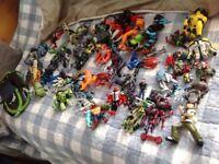 Ben 10 Figures - 70 different characters