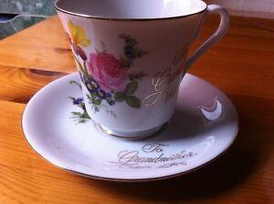 Grandmother cup and saucer
