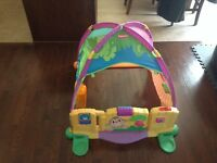 Fisher price jungle garden tent