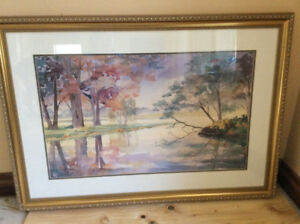 Wall Art Large Professionally Framed