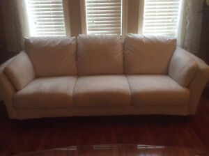 Suede sofa and chair Cambridge Kitchener Area image 1