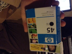 HP ink cartridge # 45 (Black)