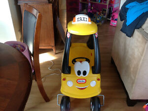 Little tikes taxi cab