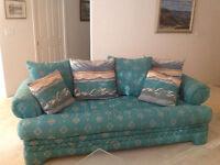 Sofa, loveseat & lrg armchair