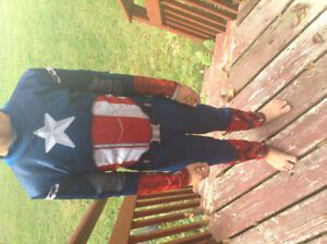 Custume, Captain America, Avengers
