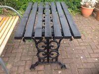 Wrought iron Garden patio Table