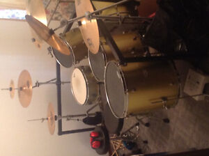 Large Drum Kit For Sale! Willing to negotiate price!