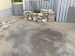 Concrete for landscaping