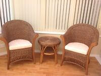 Whicker conservatory furniture
