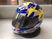 *SHOEI ~ NORICK ABE REPLICA* Size XS Spares or Display