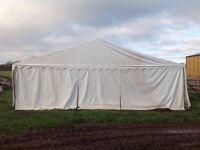Heavy duty storage tent