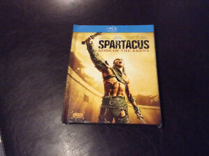 Spartacus Gods of the Arena in bluray